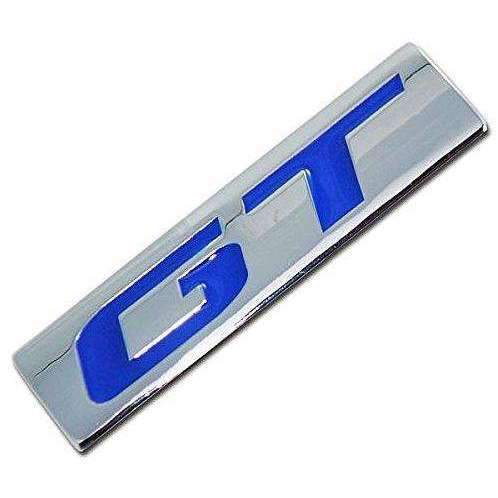 AUDI GT Blue Metal Emblem Sticker For Audi Emblems Stickers