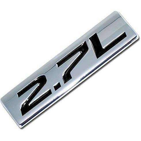 AUDI Metal 2.7L Badge Emblem Audi S4 Emblems Stickers