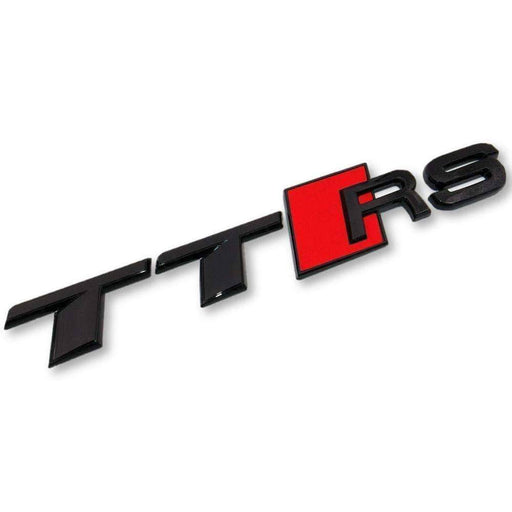 AUDI TT RS Black Emblem For AUDI Emblems Stickers