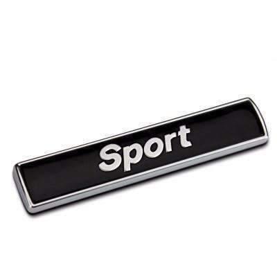BMW Sport Emblem BMW Fender [Black, ABS, Sticker] Emblems Stickers