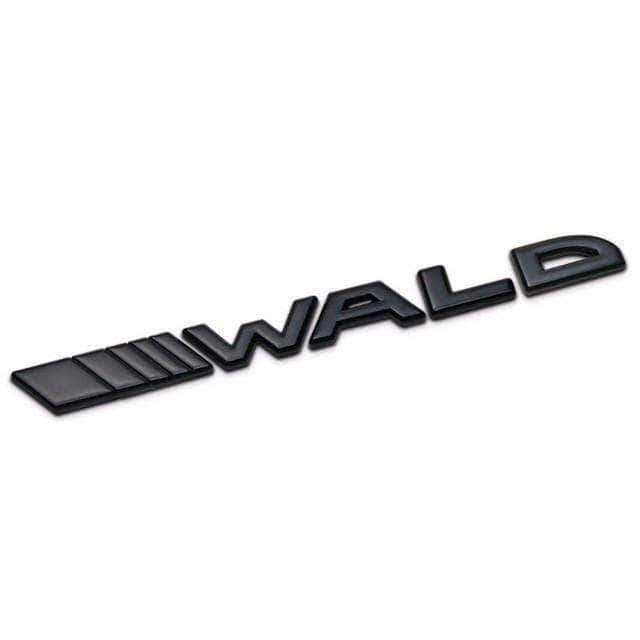 Black Wald Emblem for Mercedes-Benz