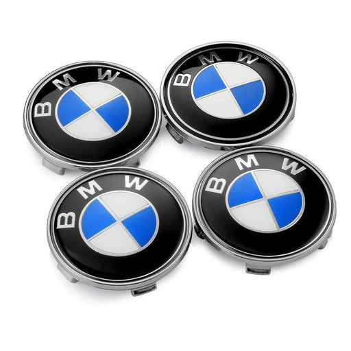 BMW 4 Pcs BMW Wheel Center Hub Caps 60mm Wheel Center Caps