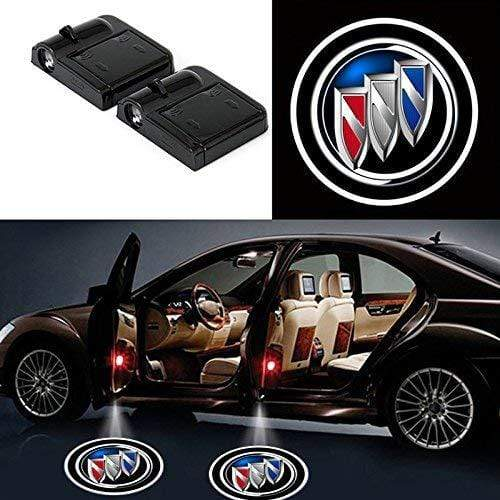 2Pcs Buick Logo Wireless Door Led Laser Projector