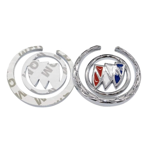 BUICK 2pcs Buick Side Door Emblems Emblem Stickers