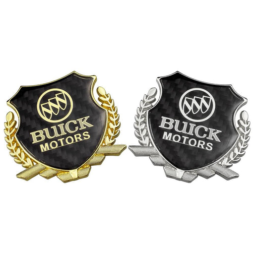 Buick Motors Carbon Shield Logo Emblem