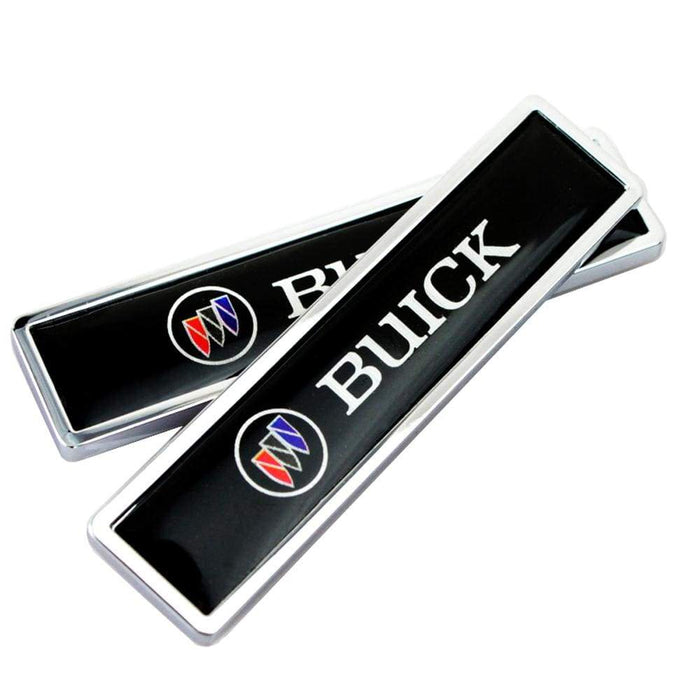 BUICK 2pcs Buick Logo Emblem Stickers Emblems Stickers