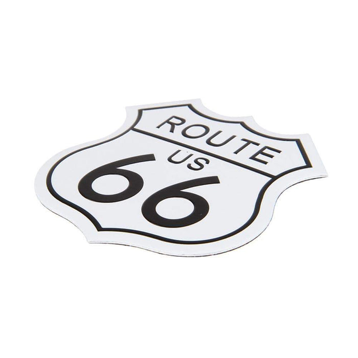 Cadillac Route US 66 Nameplate Emblem Sticker