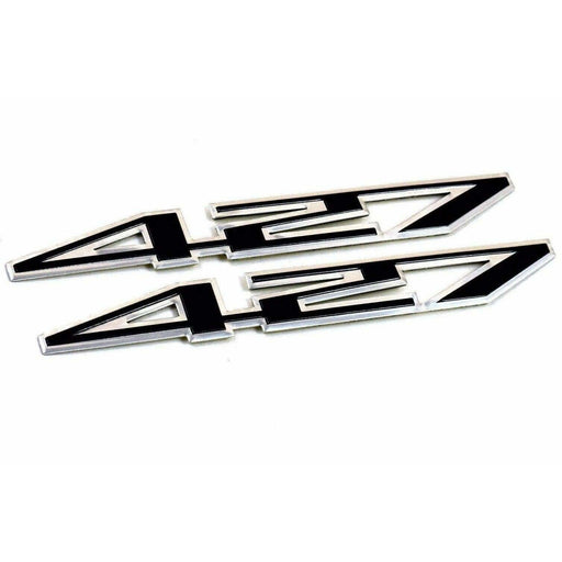 2pcs 427 Emblems Fender Stickers for Chevrolet