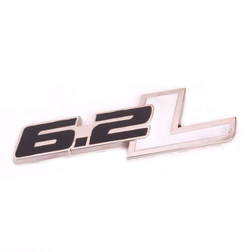 CHEVROLET Black 6.2L Emblem for Chevrolet Camaro Emblems Stickers
