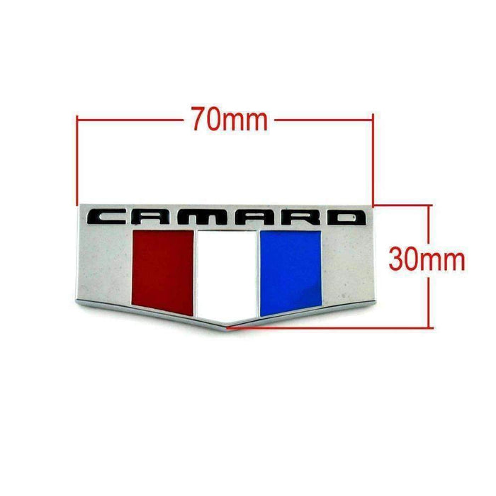 CHEVROLET CAMARO France Flag Emblem fo Chevrolet Emblems Stickers