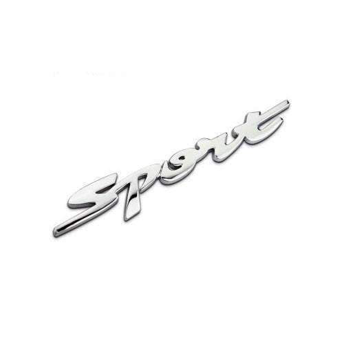 CHEVROLET Silver Sport Emblem for Chevrolet Emblems Stickers