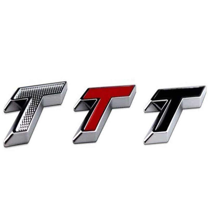 CHEVROLET T Turbo Emblem Chevrolet Cruze Silver/Red/Black Emblems Stickers