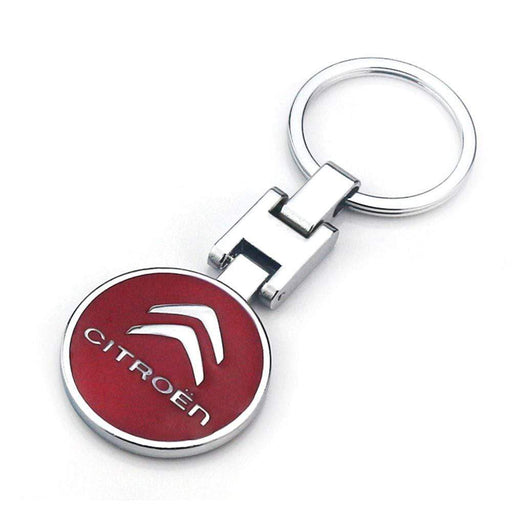 Citroen Logo Key Ring Emblem