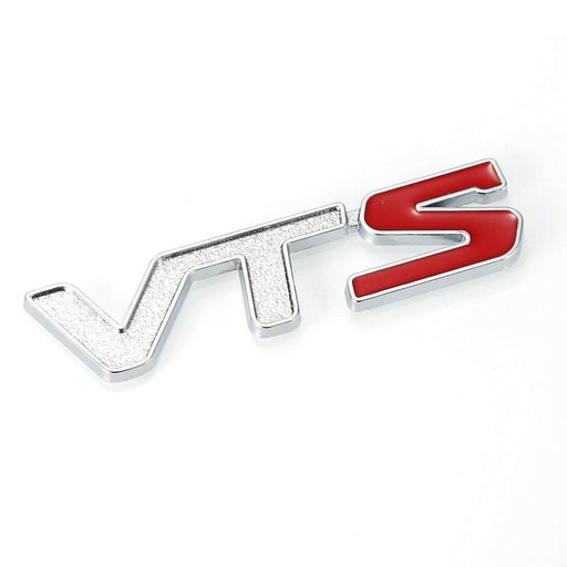 VTS Silver & Red Emblem for CITROEN