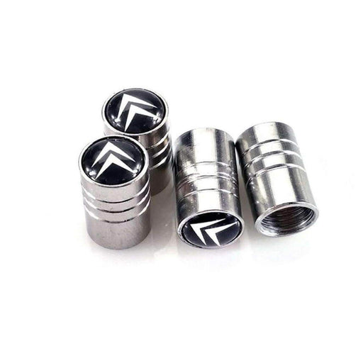 4pcs CITROEN Logo Tire Valve Caps
