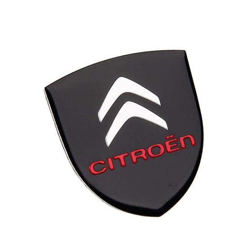 Citroen Shield Logo Trunk Emblem Sticker