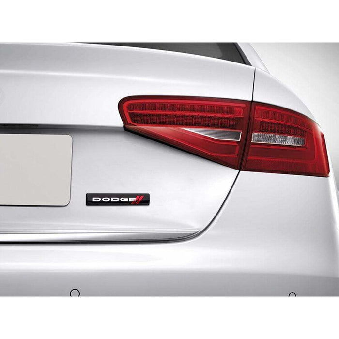 DODGE Dodge Logo Trunk Nameplate Emblem Sticker Trunk Emblem