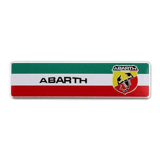 FIAT Fiat Abarth Scorpion Italy Flag Emblem Sticker Emblems Stickers