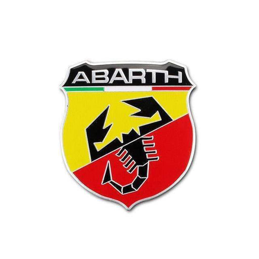 Fiat Abarth Shield Italy Flag Emblem Sticker