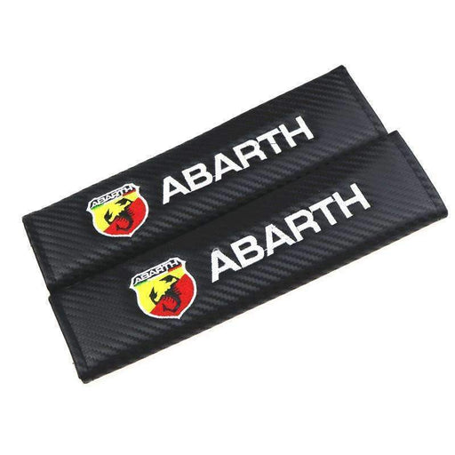 FIAT 2pcs Fiat Punto Abarth Seat Belt Cover Pad Seat Belt Cover