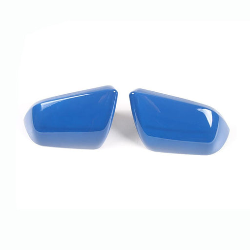 FORD 2pcs Car Side Rearview Mirror Cover Stickers for Ford Cover Stickers Blue / A