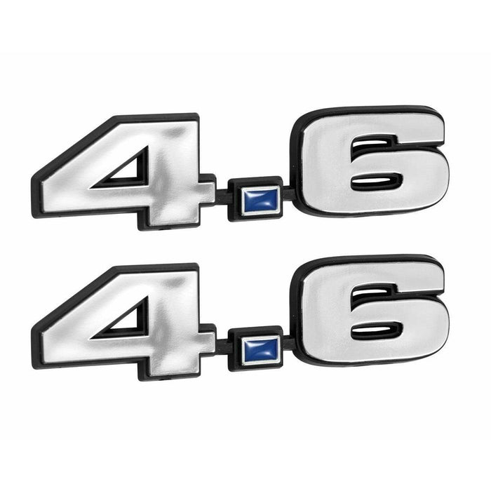 2pcs 4.6 281 Engine Emblems