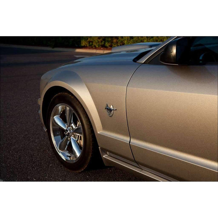 FORD 2pcs 45th Anniversary Emblem for Ford Mustang Emblems Stickers
