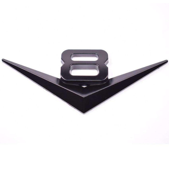 Black V8 Emblem for Ford