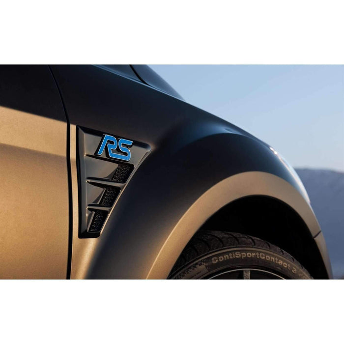 FORD Blue Metal RS Trunk Emblem for Ford Focus Emblems Stickers