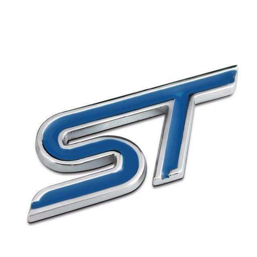 FORD Blue ST Emblem Sticker for Ford Focus Emblems Stickers