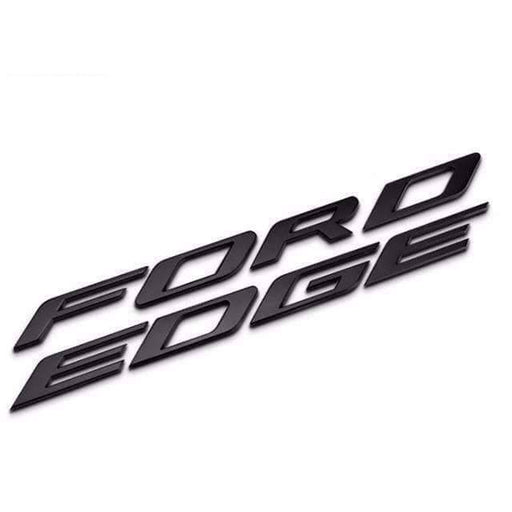 FORD FORD EDGE Hood Emblem for Ford Explorer [Black, Metal, Car Sticker] Emblems Stickers