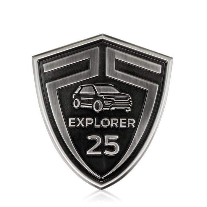 FORD Ford Explorer 25th Anniversary Emblem for Ford Emblems Stickers