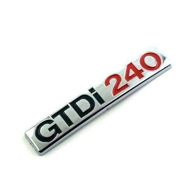 FORD GTDI 240 Emblem Sticker for Ford Emblems Stickers