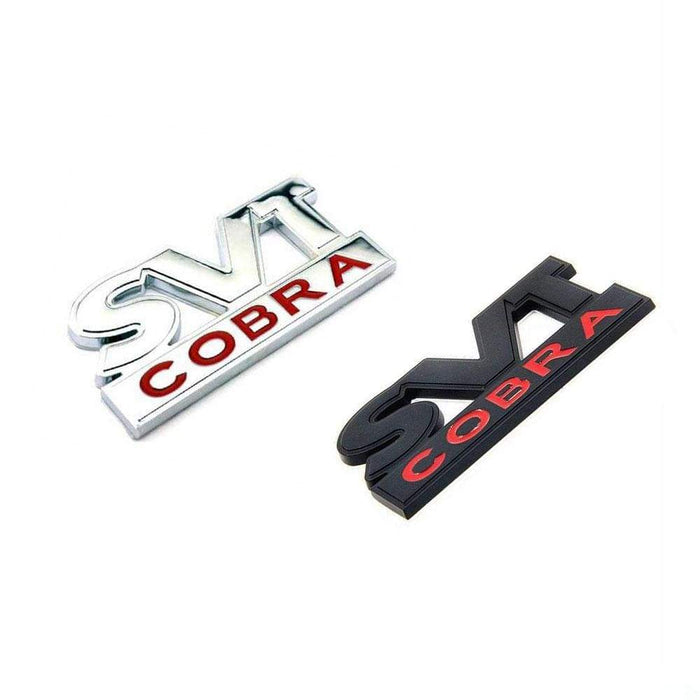 svt cobra emblem sticker trunk fender badge ford mustang shelby natalex auto svt cobra emblem sticker for ford mustang