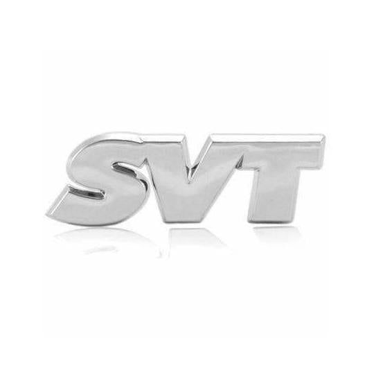 SVT Emblem Sticker for Ford Mustang - Silver