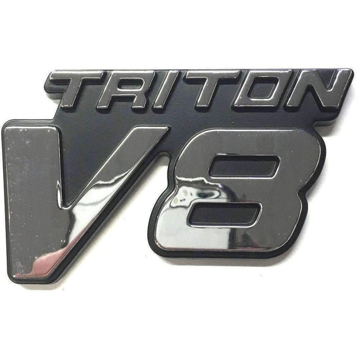 FORD Triton V8 Fender Emblem for Ford Emblems Stickers