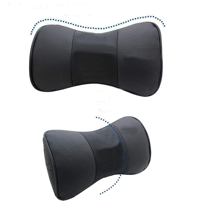 2pcs Ford Car Pillow Neck Rest Headrest