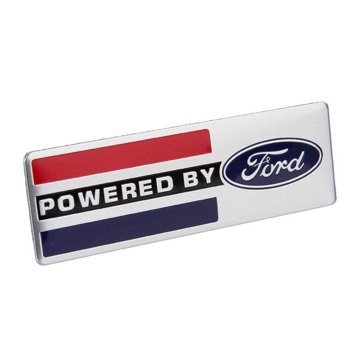FORD Ford Powered By Logo Trunk Emblem Sticker Trunk Emblem