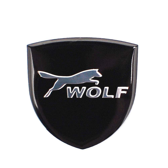 FORD Ford Wolf Black Logo Trunk Emblem Sticker Trunk Emblem