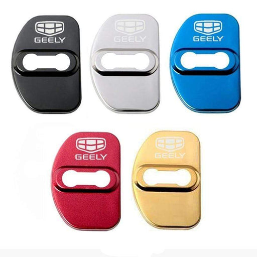 4pcs Geely Logo Door Lock Cover for Borui PHEV