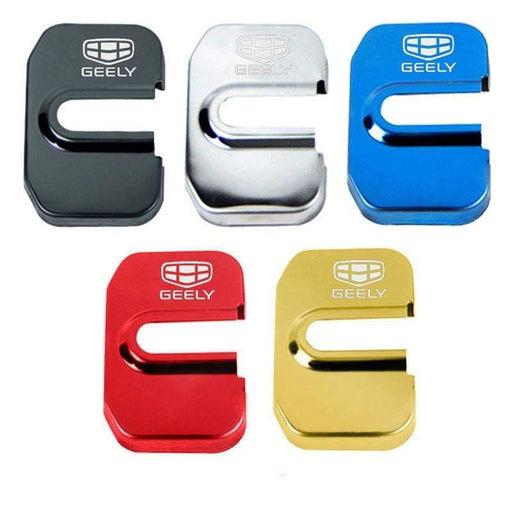 4pcs Geely Logo Door Lock Cover for Emgrand EV Emgrand PHEV
