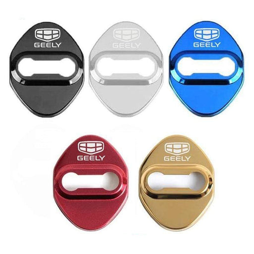 4pcs Geely Logo Door Lock Cover for Binray New Vision ect