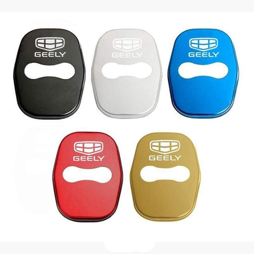4pcs Geely Logo Door Lock Cover for Borui Binray ect