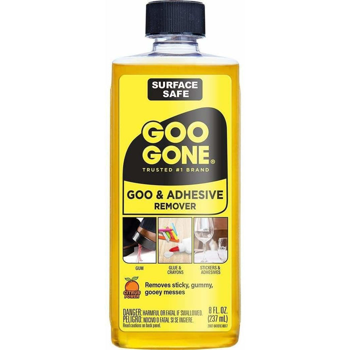 Goo Gone Glue & Tape Adhesive Remover - 8 oz