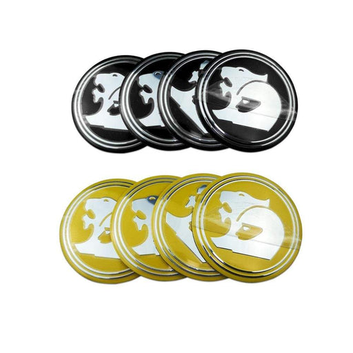 4pcs 56mm Wheel Center Stickers for Holden