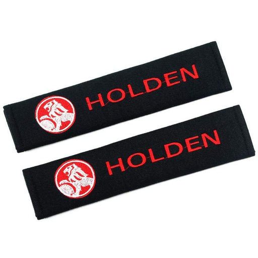 2pcs Holden Logo Seat Belt Shoulder Pads