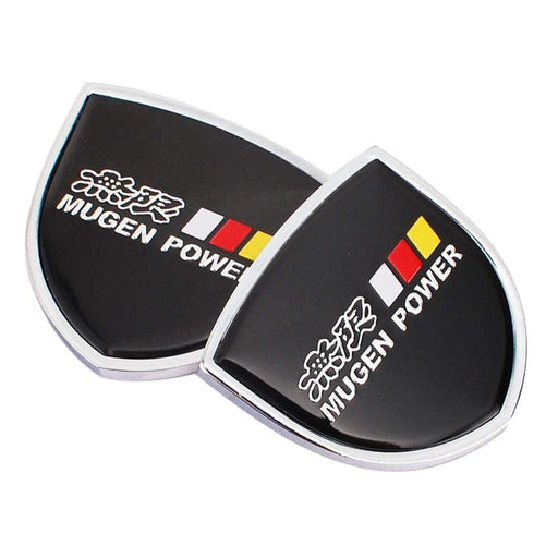 2pcs Mugen Power Emblem Sticker for Honda