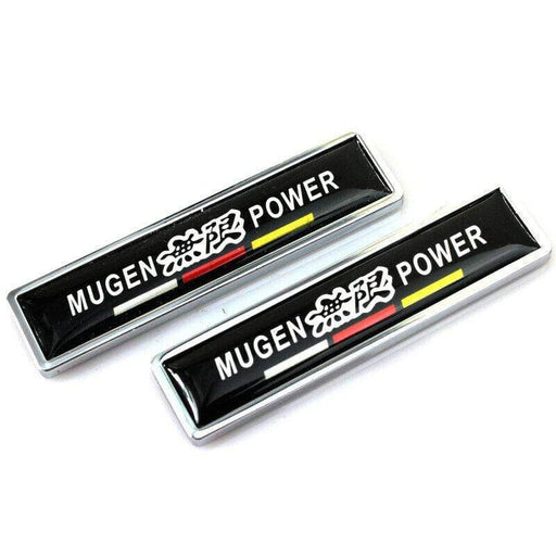2pcs Mugen Power Side Emblem Sticker for Honda