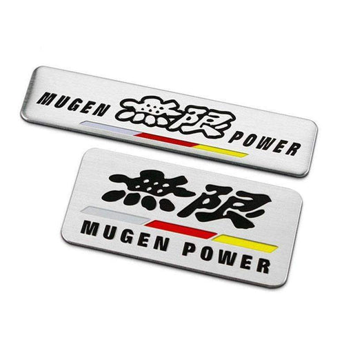 MUGEN POWER Emblem Sticker for Honda