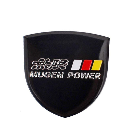 Honda Mugen Power Shield Trunk Emblem Sticker